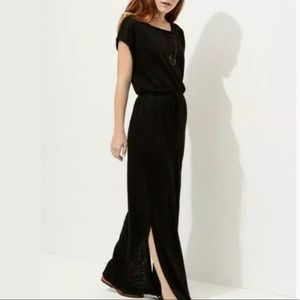Lou & Grey Linen Side Slit Maxi Dress